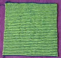 Shadow Knitting Patterns : Illusion Knitting